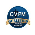 Logo for certified veterinary practice managers