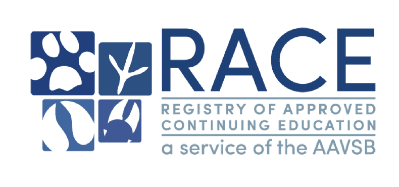 Colored logo for registry of approved continuing education